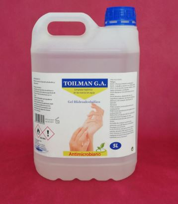 GEL HIDROALCOHOLICO(5L)