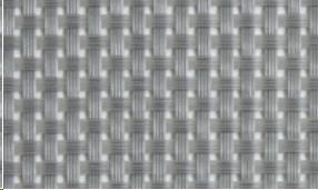 MANTEL IND. 45X33CM PVC PLATA HADES