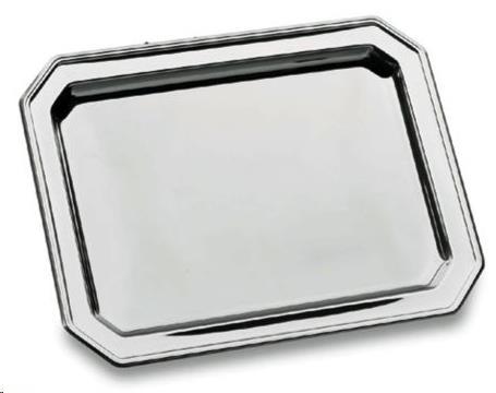 BANDEJA OCTOGONAL 46X36CM INOX LACOR